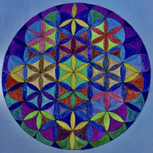 Geometric Drawing by Rev. Mary Ann Tourjee - An Avenue for Healing